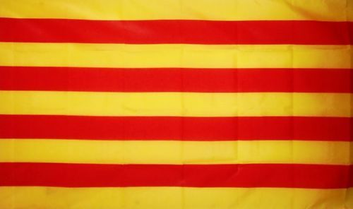 CATALONIA FLAG 5X3 Catalan BARCELONA spain SPANISH