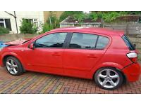 Vauxhall astra Sri 1.8 petrol damaged salvage not for parts breaking