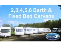 2,3,4,5,6 Berth Caravans in Maidstone Kent. Prices from £2999
