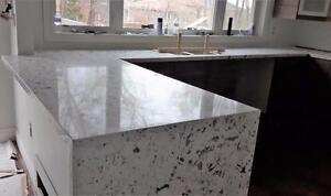 Marble, Granite, Quartz counter top bar top vanities top table top (FREE SINK, FREE PLUMBING)