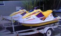 760 wave blasters with trailer