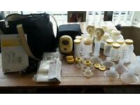 Madela double electric breast pump