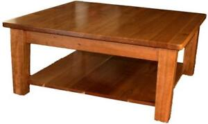 Canadian Mennonites Handcrafted Local Solid Wood Coffee Tables