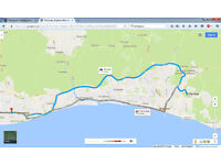 Lift share from Worthing To Brighton And Vice Versa