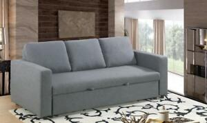 Grey Fabric Sofa Bed (BD-1716)