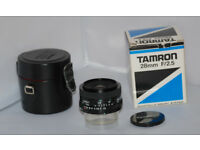 Tamron Adaptall 2 28mm F2.5 Lens
