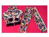 Ladies Floral Tracksuit Available Brand New