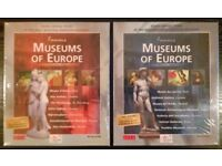 'Famous Museums Of Europe: volumes 1&2' PC CD-ROM Virtual Guides (new)
