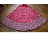 Indian Bridal Lengha: wedding lenga asian red Choli silk gorgeous stunning