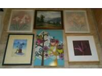 6 PIECES OF ART
