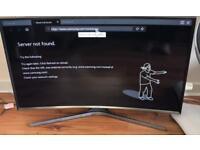 """Samsung 40"""" CURVED LED SMART TV"""