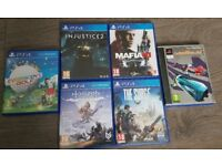 PS4 Games Bundle x 6