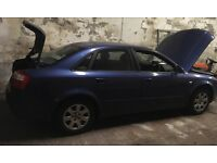 Audi A4 2003 automatic for parts