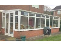 Conservatory for sale (7metres x appx. 3metres)