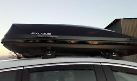 Peugeot roof box 580 liter capacity