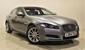 JAGUAR XF 2.2 D PREMIUM LUXURY 4d AUTO 200 BHP + 1 OWNER FRO (grey) 2014