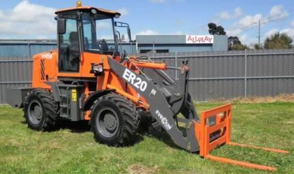 New Everun ER20 Wheel Loader - 2000kg Capacity,  94HP,