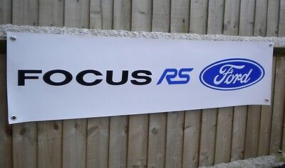 Ford Focus RS MK 2 PVC Workshop Garage banner sign