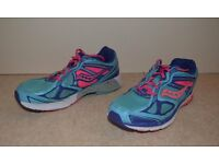 Woman/Girl's Trainers Size 5 (38) Blue and Pink