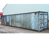 Used 40ft x 8ft Shipping Container (Wind & Watertight)