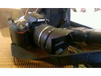 Nikon D7000+Tamron 18-200+Nissin speedlite Di622