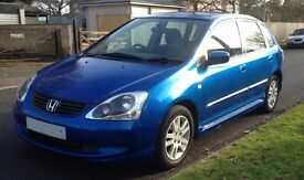 Honda Civic 5 door hatchback 1.4