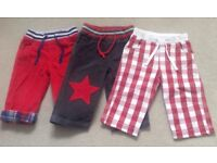 Boden Toddler Trousers 12-18mths x3