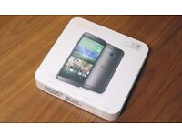 BOXED UNLOCKED HTC ONE M8 16GB GREY IN VERY GOOD CONDITION