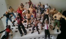 Wrestling figures & accessories