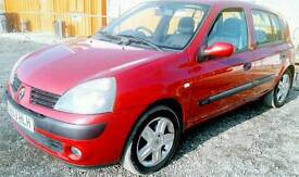 2004 Renault clio for sale £720.00 (low mileage 49500 )