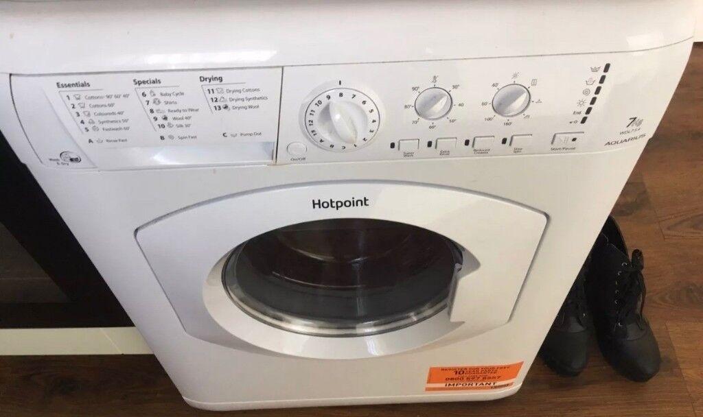 hotpoint washer/dryer 7kg