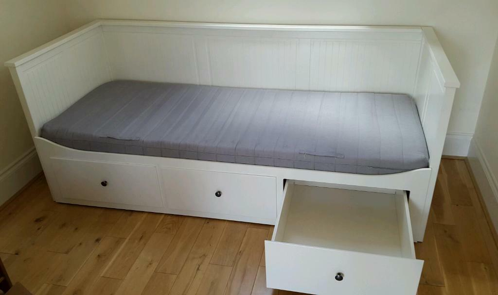 Ikea Farmhouse Sink Single Bowl ~ Ikea hemnes daybed day bed white with two mattresses  Ikea hemnes day