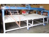 marble cutting saw table