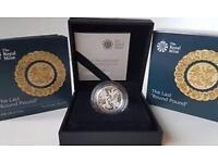 Silver proof Last round Pound