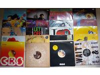 """160 x 12"""" Singles vinyl records"""