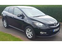 Mazda CX7 very rare very fast 4x4 260bhp probably only one in wales