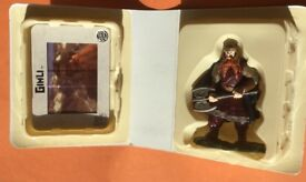 Tolkien LOTR / Lord of the Rings, Burger King GIMLI figure, complete, 2001