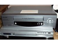 Bush DVD player & Pacific VHS recorder player