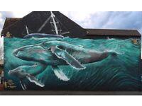 Top Professional Street Artist - Graffiti Art - Mural Sign writer - Design Solutions - BRISTOL