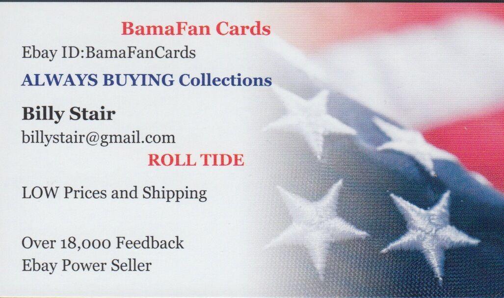 BamaFanCards  Store