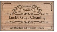 Lucky guys cleaning