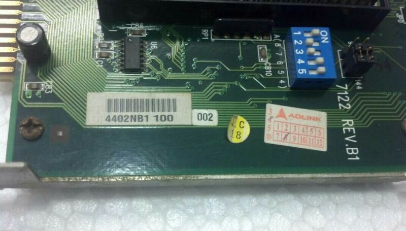 Adlink 7122 Rev.b1 I/o Card