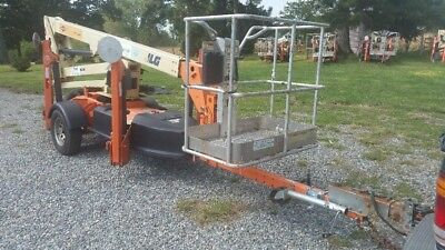 Jlg T350 Towable Articulating 35 Boom Lift Height Boom Lift Basket Rotate Opt.