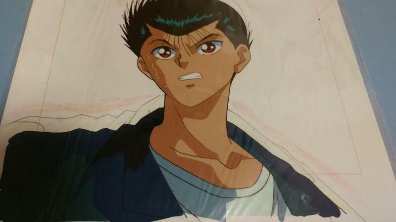 Yu Yu Hakusho Cel Picture Painting Japanese Anime JAPAN e15