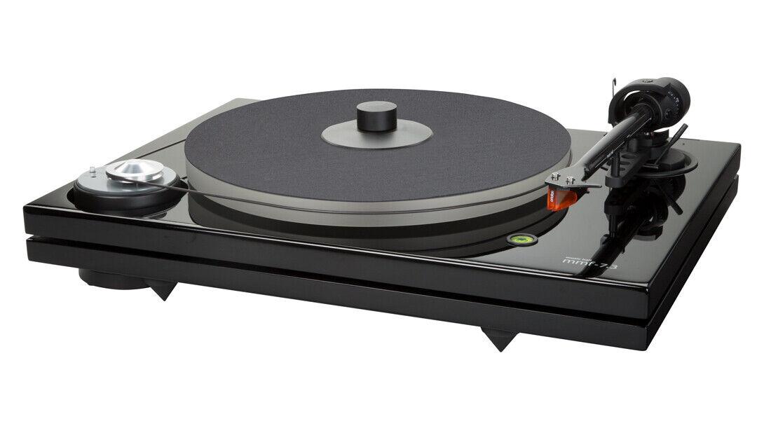Music Hall MMF 7.3 Turntable Black w/speed control & Ortofon