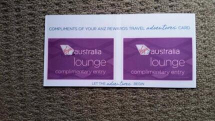 2x Virgin Australia Lounge Passes Exp. 30/12/2018