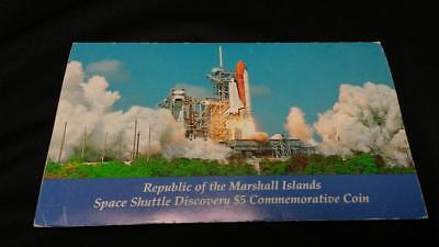 Space Shuttle Discovery $5 Commemorative Coin, Republic of the Marshall Islands