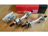 NOS BMX SUZUE SMALL FLANGE CHROME  36 HOLE HUBS BOXED EARLY 80/'s OLD SCHOOL