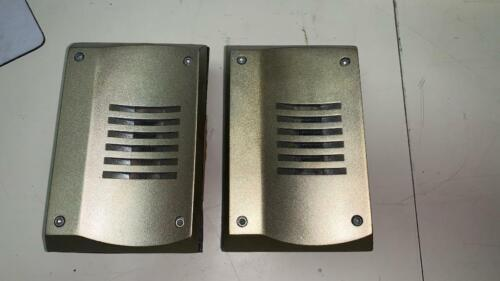AMT ESS ORIGINAL ALNICO TWEETERS Performance Near Mint with gasket and screws