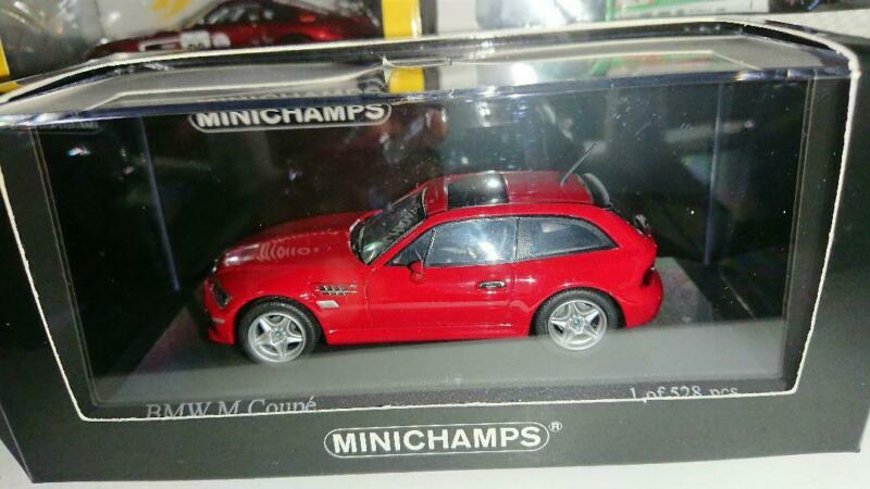 Mini Champs 1/43 Bmw M Coupe 2002